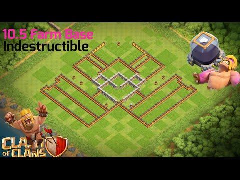 10.5 Farm Base 2018/ Indestructible 💪