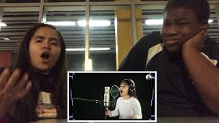 Angelica Hale - Listen - (Beyonce) - Cover Song COUPLES REACT