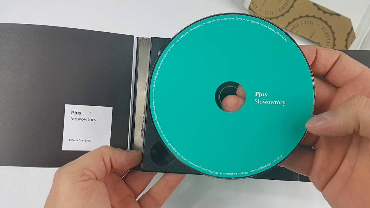 """Unboxing: PJUS """"SŁOWOWTÓRY"""" EDYCJA SPECJALNA CD"""