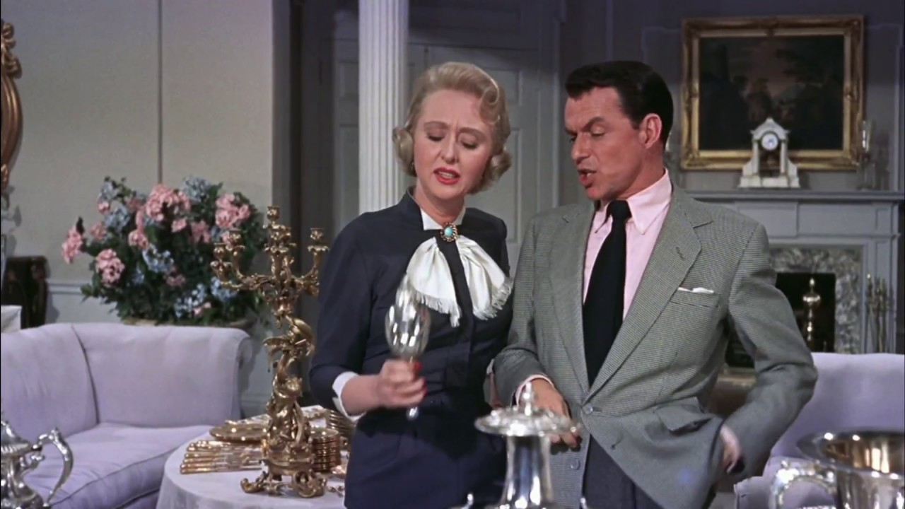 Image result for CELESTE HOLM AND FRANK SINATRA