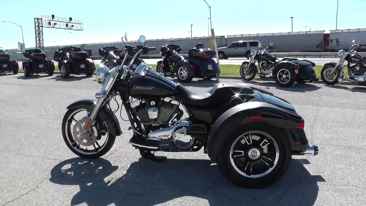 856193 2015 harley davidson freewheeler trike flrt used motorcycle for sale youtube. Black Bedroom Furniture Sets. Home Design Ideas