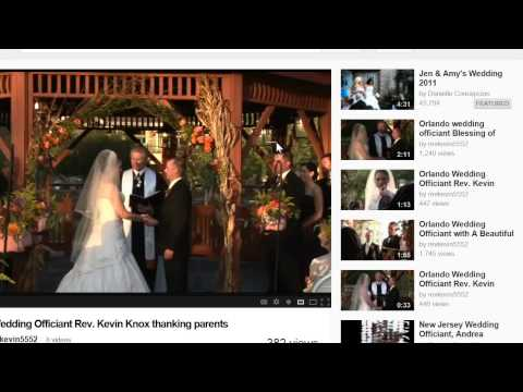How to pick a wedding officiant | Orlando wedding officiants | 407-521-8697