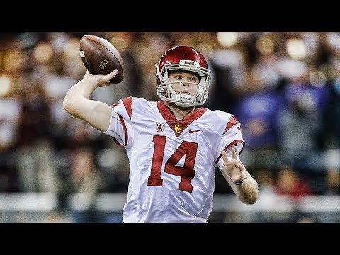 Sam Darnold Usc 2017 Season Highlights ᴴᴰ Welcome To The New York Jets