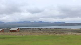 the clouds opened up at Lake Thingvallavatn!