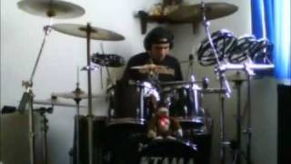 judas priest leather rebel drum cover by eduardo barrera
