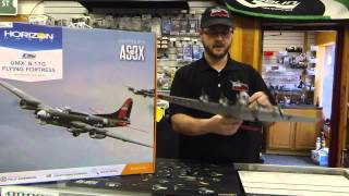 e flite umx b 17g flying fortress bnf review and maiden flight