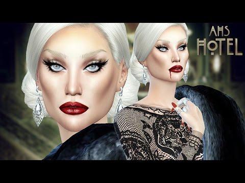 THE SIMS 4 - CREATE A SIM - LADY GAGA | AHS HOTEL |
