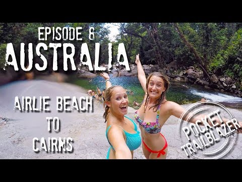 Backpacking Australia Ep.8 - SKYDIVE in a STORM! : CAIRNS : (Tips & Adventure Travel Series)
