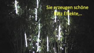 Flash Tubes LED Lichterkette mit Flash Effekten Glitter & Glamour