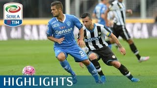 Udinese 1-2 Empoli - Highlights - Matchday 4 - Serie A TIM 2015/16