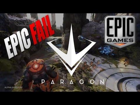 видео: paragon. МОБА от epic games.