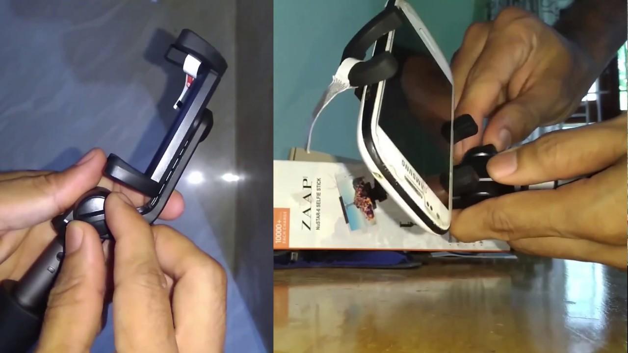 30dfefaf963899 ZAAP Nustar6 Selfie Stick with Tripod | Unboxing | - YouTube