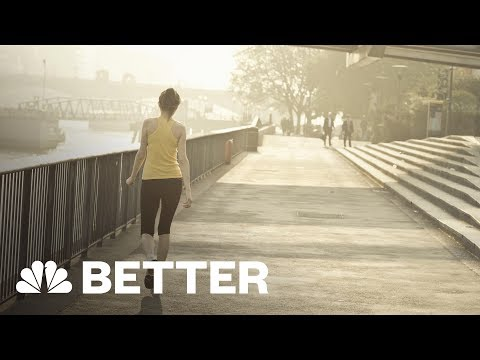 How To Burn More Calories Just By Walking | NBC News
