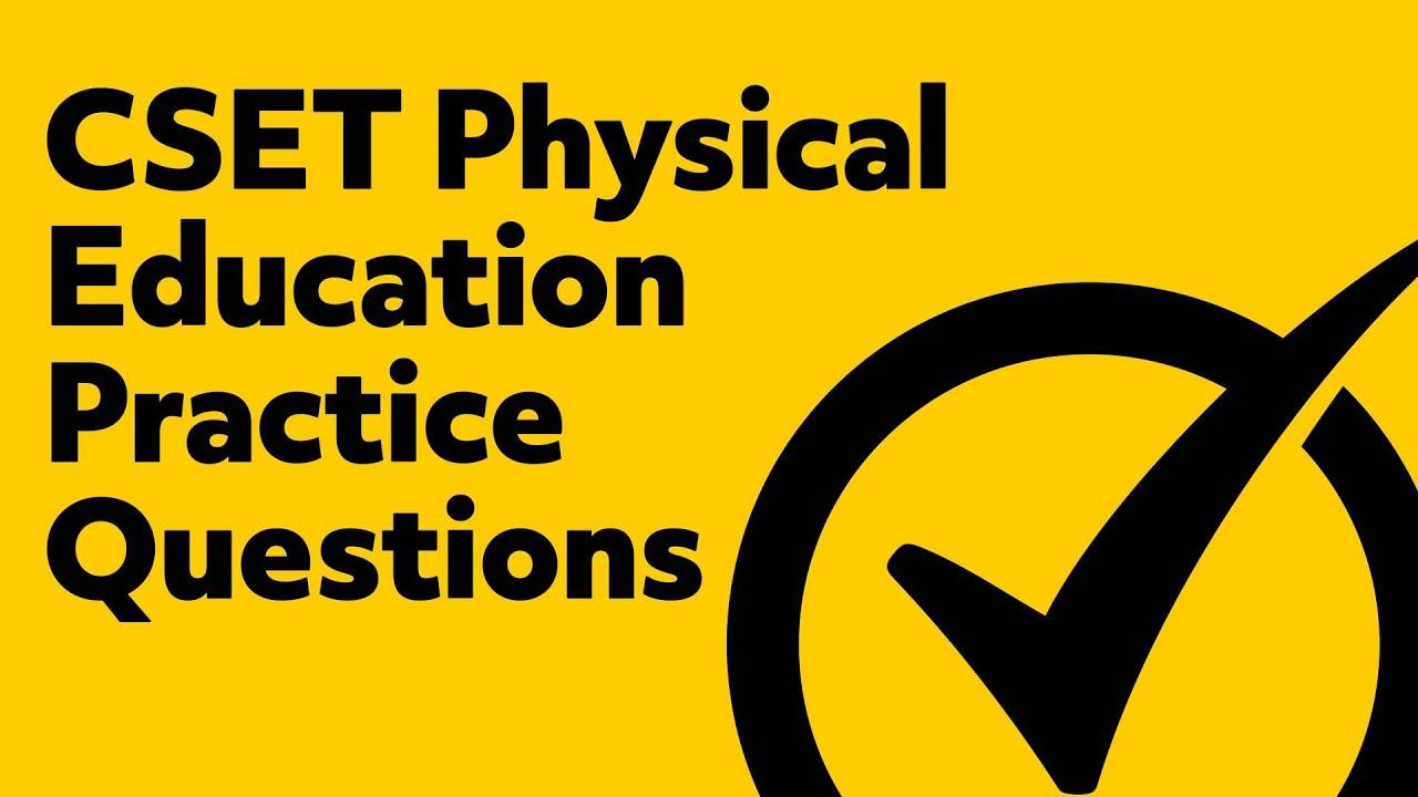 Free CSET Physical Education Practice Test