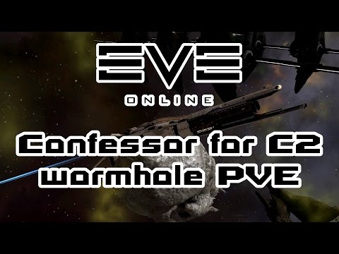 Eve Online - Confessor fit for C2 wormhole PVE