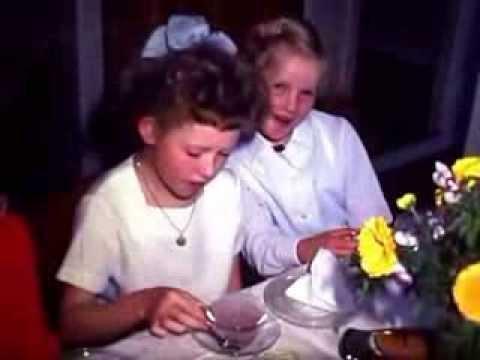 Bursdagsselskap i Revelheigata 18B Mo i Rana 1966