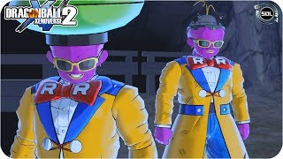 Android Nº15 Normal and Damaged Outfit VS Vegeta in Dragon Ball Xenoverse 2