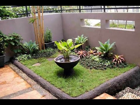 Como hacer un jardin bonito youtube for Como decorar un antejardin pequeno