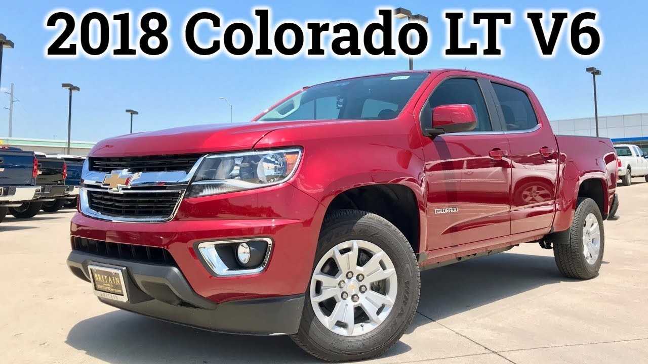 2018 Chevy Colorado V6 Review Test Drive The Well Rounded Midsize Truck