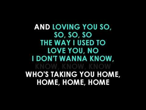 Maroon 5  Don't Wanna Know karaoke ft...