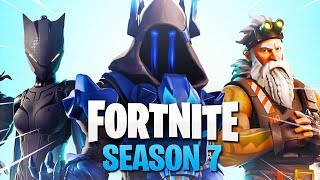 SEASON 7 IS ALREADY * SKINS FOR WEAPONS and CARS * LEAKINGS in FORTNITE-Fortnite live #SEZON 7