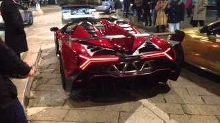 Lamborghini Veneno Roadster 2014 Videos
