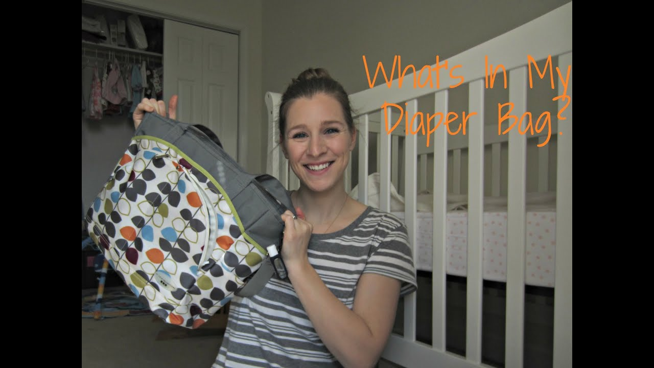 what 39 s in my diaper bag mini review youtube. Black Bedroom Furniture Sets. Home Design Ideas