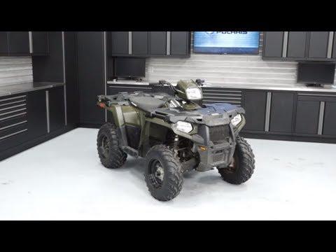 Sportsman 450 Oil Change Procedure | Polaris Off-Road Vehicles