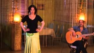 Уроки цыганского танца Венеры Ферарь №9 (gipsy dance lesson)