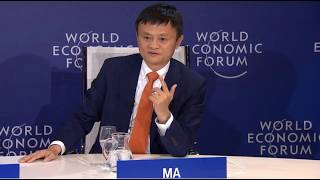 Jack Ma on the future of education (teamwork included)