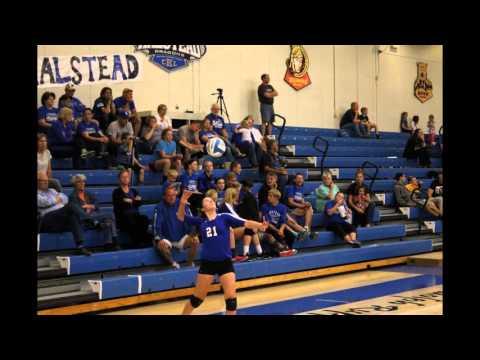 Halstead High School Volleyball 2015