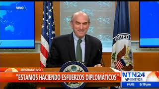 "Elliott Abrams: ""No estamos jugando, Maduro"""