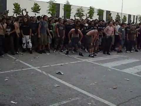 Wall of death (pogo) System of a Down (SOAD Milano 02/06/2011)