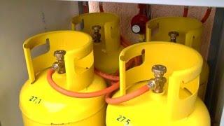 видео Газовое отопление деревянного дома
