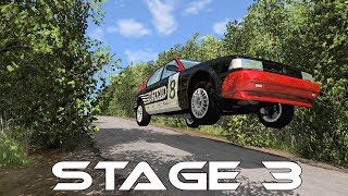 BeamNG.Drive Insane Rally - Stage 3 - Complete - Scenario - Preview