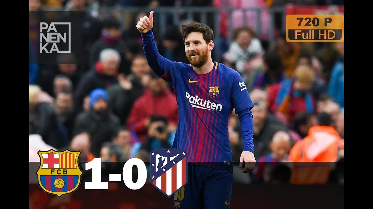 Download Barcelona vs Atletico Madrid 1-0 ● All goals & Highlights ● English Commentary (04/03/2018) HD/720P