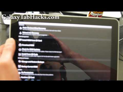 How to Root Samsung Galaxy Tab 10.1!