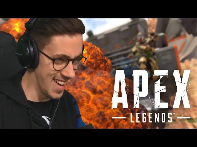 Meine ERSTE Runde Apex Legends