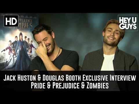 Jack Huston & Douglas Booth  Pride and Prejudice and Zombies Exclusive Movie