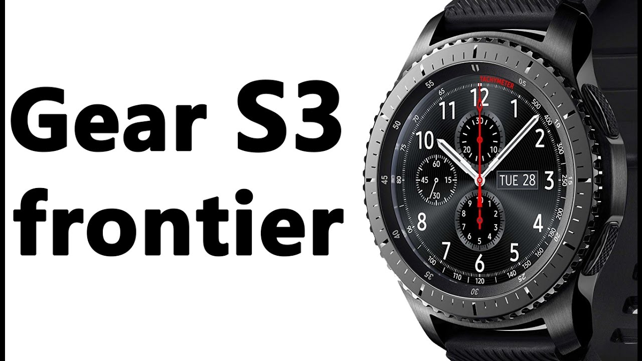 Samsung Gear S3 frontier watch Features & specifications ...