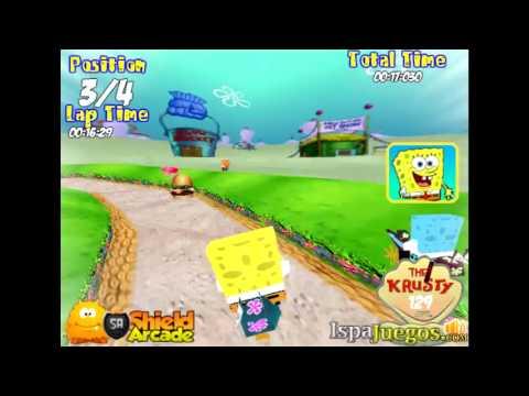 Spongebob Bike 3D juego de bob esponja
