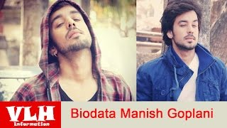 Biodata Manish Goplani Pemeran Bihaan dalam Film Thapki di ANTV