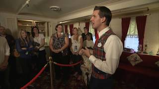 VIP tour of Walt Disney's apartment at Disneyland - above the fire station
