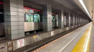 都営5500型 日本橋発車