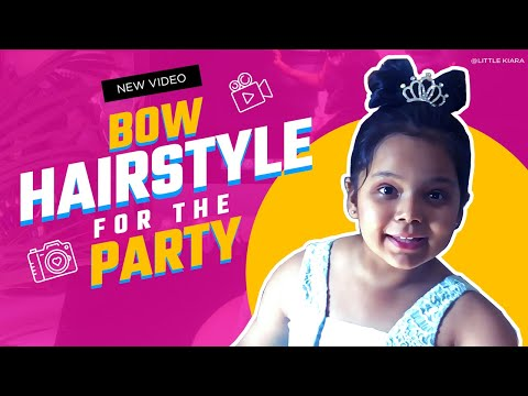 Bow Hairstyles For The Party