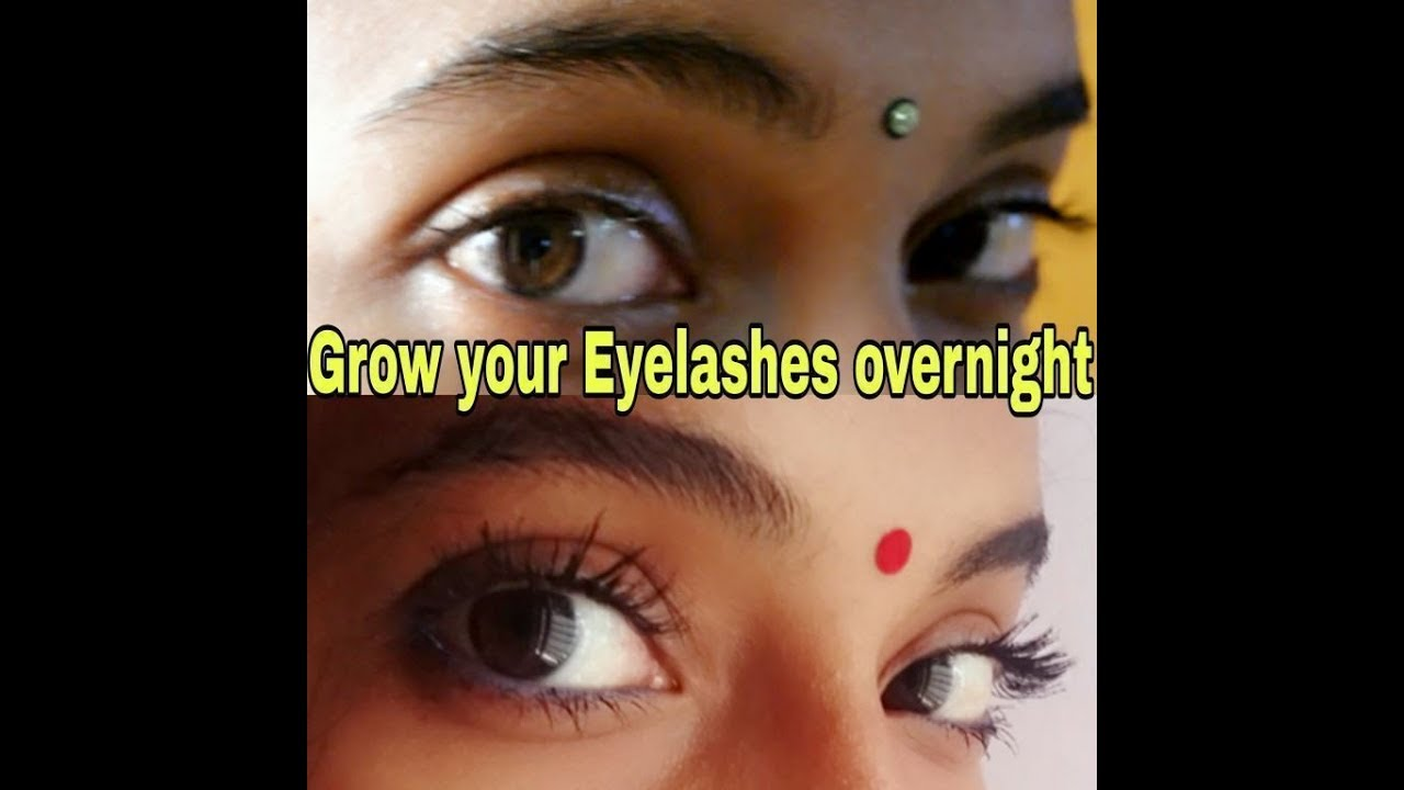 Grow your Eyelashes naturally thicker and longer overnight ...