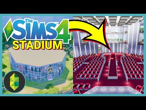 Someone Built a STADIUM in The Sims! (Your Gallery Builds)