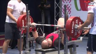 Martins Kruze 947.5kg 4th Place 120+kg IPF World Classic Powerlifting Championships 2017