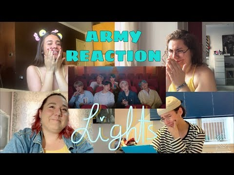 BTS (방탄소년단) - Lights Official MV REACTION l ARMY REACTION!!!