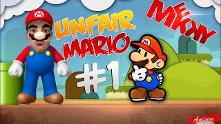 M3KKY | Unfair Mario MAX RAGE !! [ Dat Intro ]